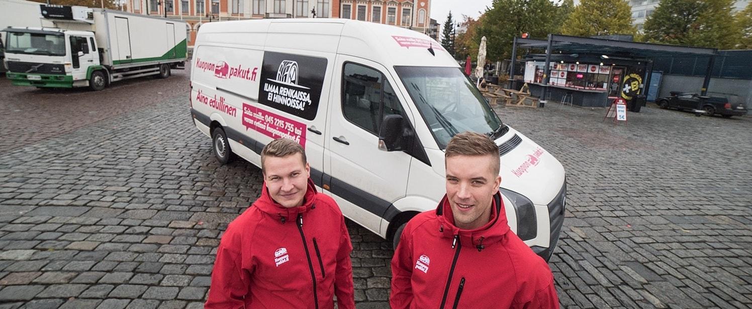 Pakettiauton vuokraus Kuopio